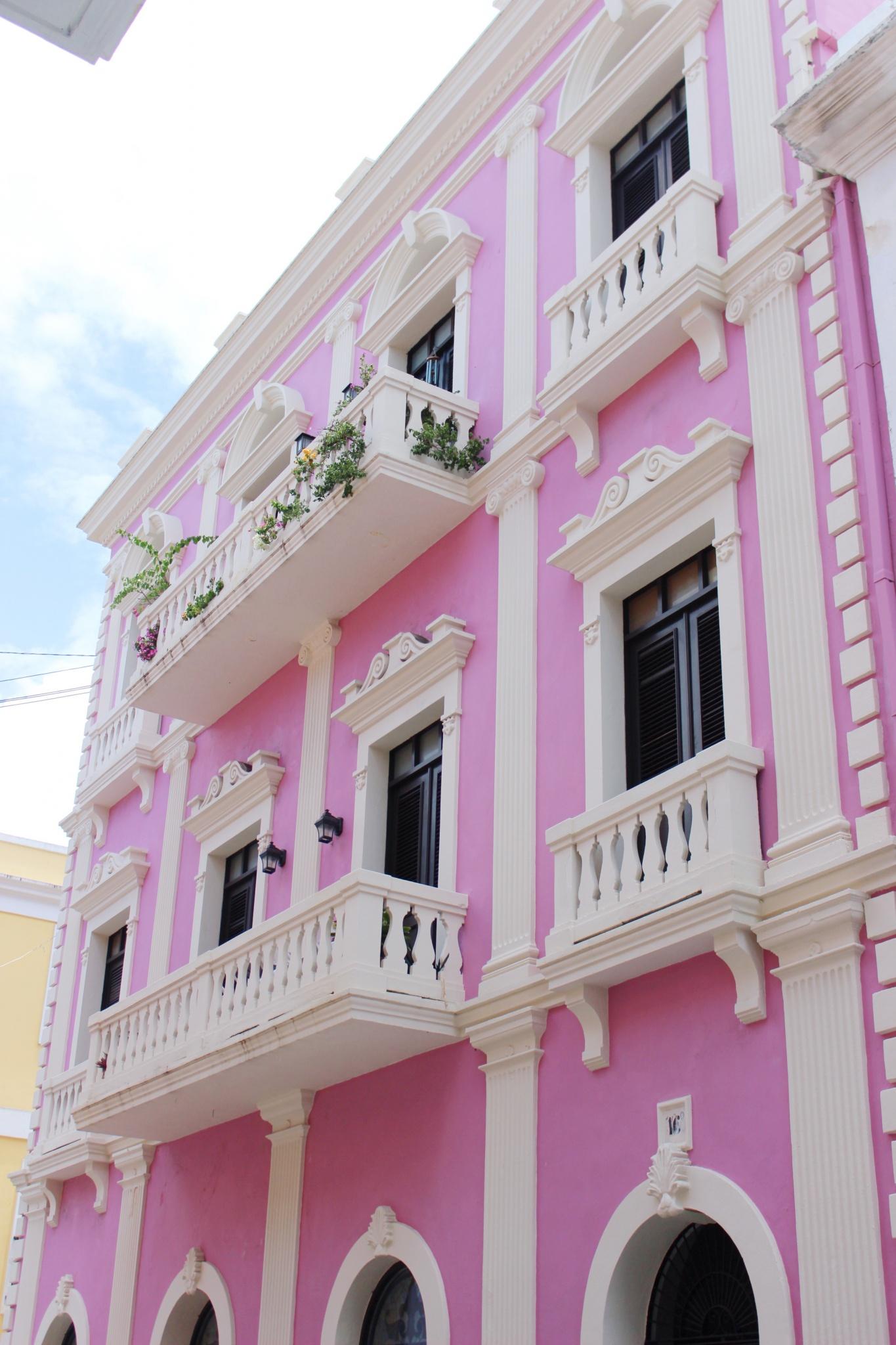 El viejo San Juan. Puerto Rico